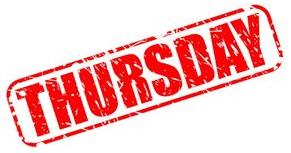 Thursday Group Dates for 2020