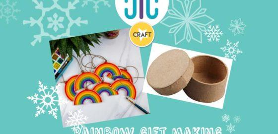 Craft: Rainbow Gift Boxes